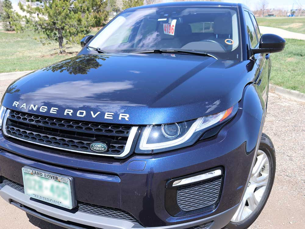 Range rover hail damage after fixed by StormWise