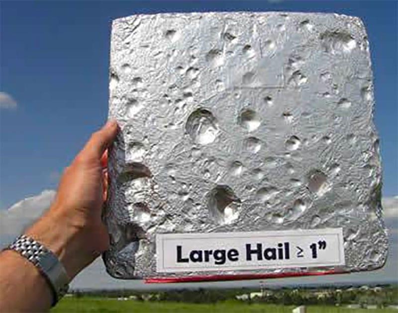 Hail Pad