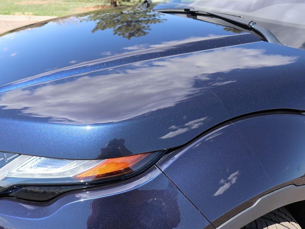 dent repair for top hood