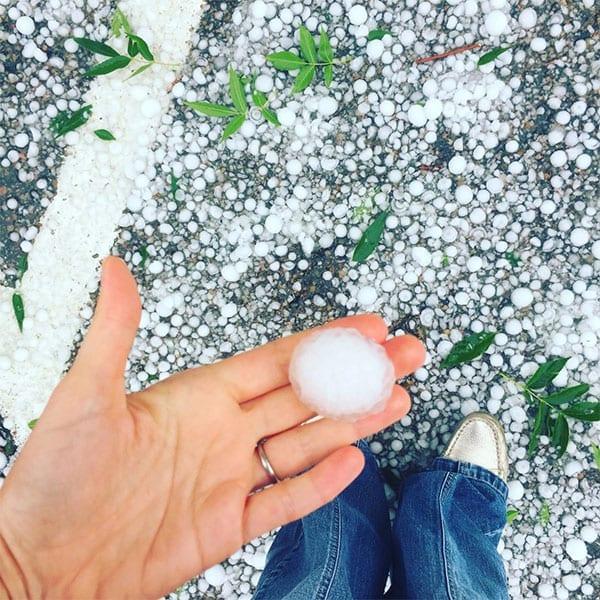 hail in colorado