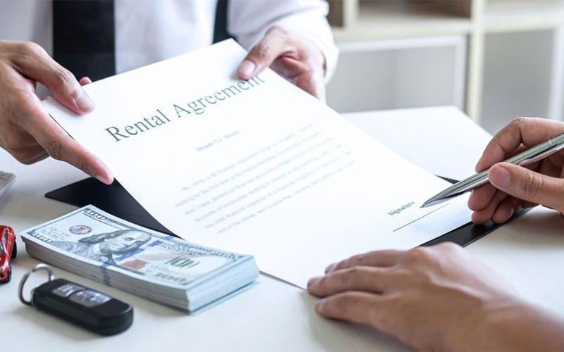 rental car agreement