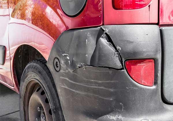 plastic bumper damage