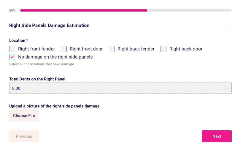StormWise Hail Damage Car Repair Cost Calculator Step 3