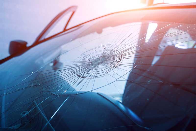 austin hail storm cracked windshields
